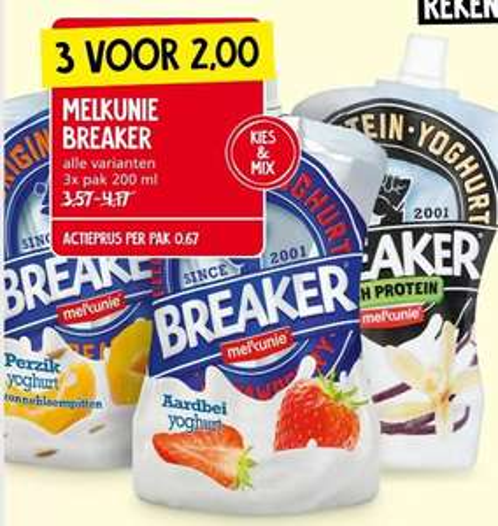 Melkunie Breaker 3 voor €2 bij Jan Linders