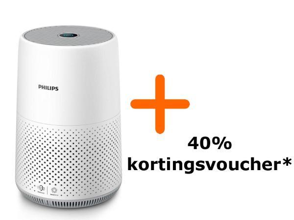 Philips Luchtreiniger (AC0819/10) met korting èn 40% Kortingsvoucher [ING-punten]