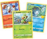 Pokémon 25th Celebration oversize 3-pack gratis bij aankoop van 25,-