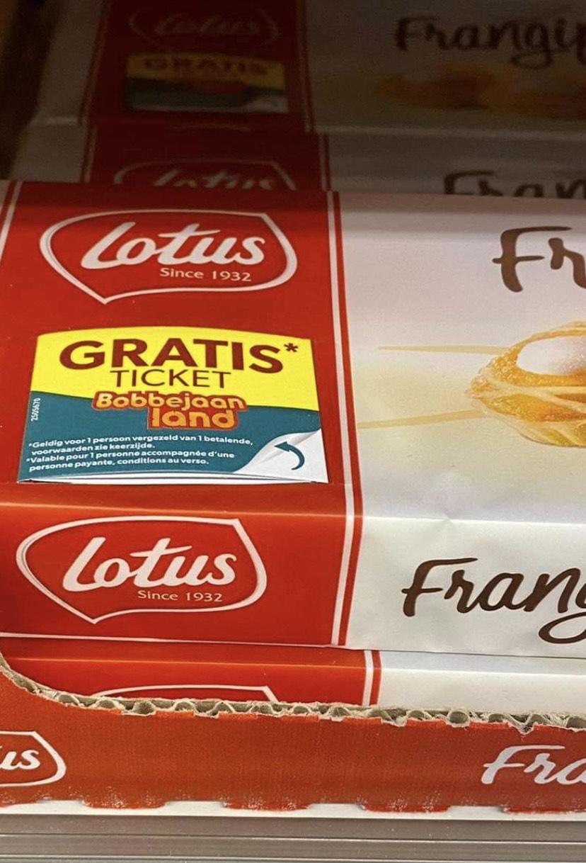[Grensdeal] Bobbejaanlandticket bij aankoop Lotus Frangipane
