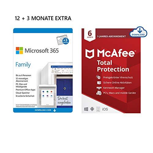 Microsoft 365 Family - 6 gebruikers - 15 maanden