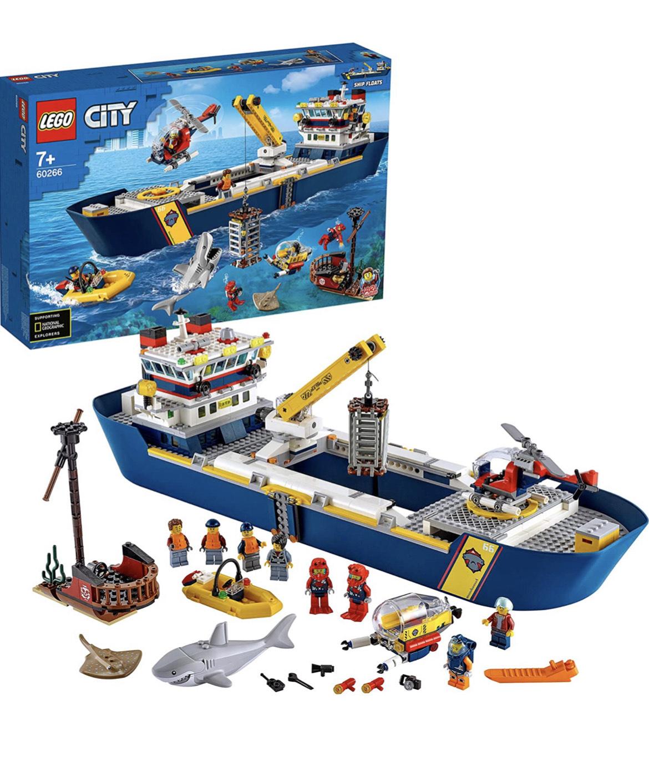 Lego oceaan onderzoeksschip (60266)