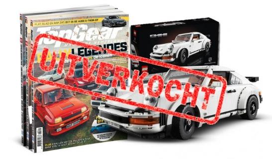 2 jaar (24 nummers) TopGear voor € 149,95 + LEGO Porsche 911 (twv €149,95)