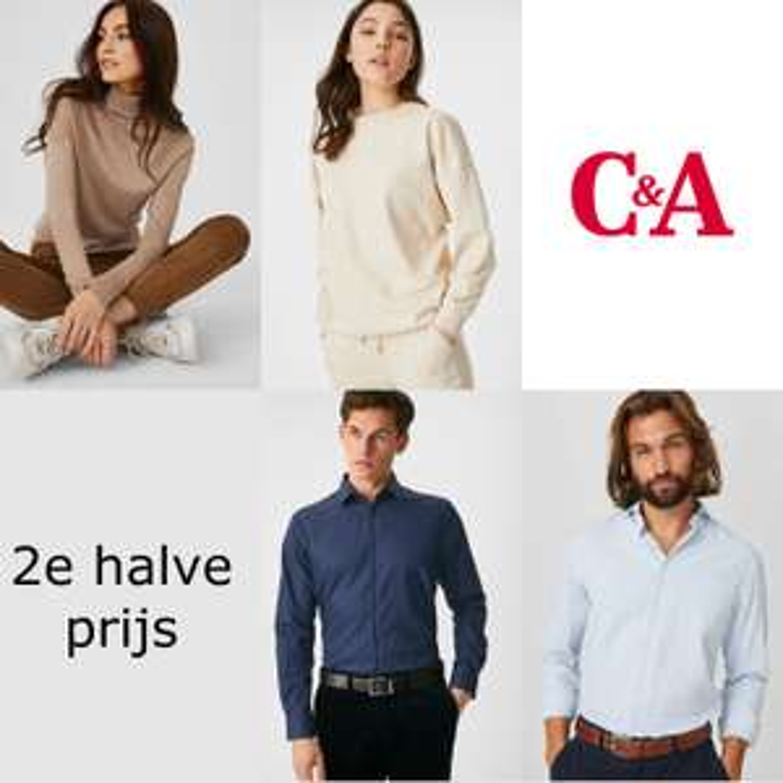 Damestruien + heren overhemden: 2e item 50% korting - ook op sale