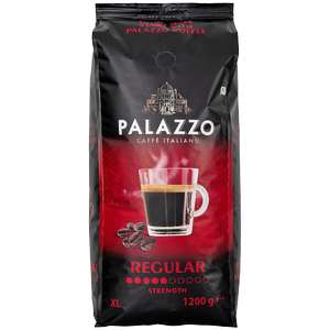 Action: Palazzo koffiebonen Regular of Dark Roast 1.2 KG voor €4.88