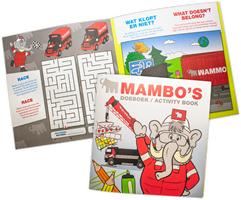 Gratis Mammoet Kids Doeboek met Kleurpotloden (nee niet alleen een rood stem potloodje :P)