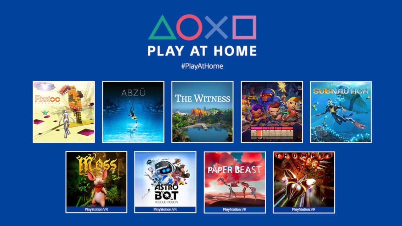 9 gratis games voor Playstation vanaf 26/03