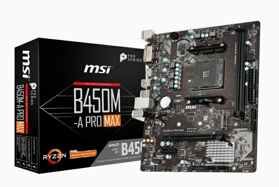 MSI B450M-A PRO MAX (AMD AM4)
