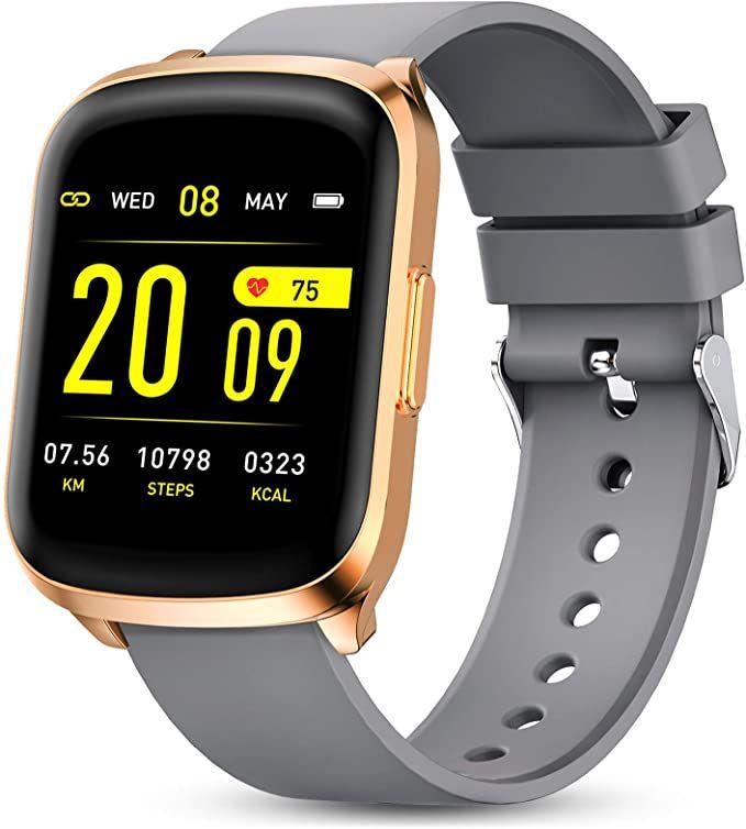 GOKOO smartwatch met hartslagmeter & gratis verzending @ Amazon.nl