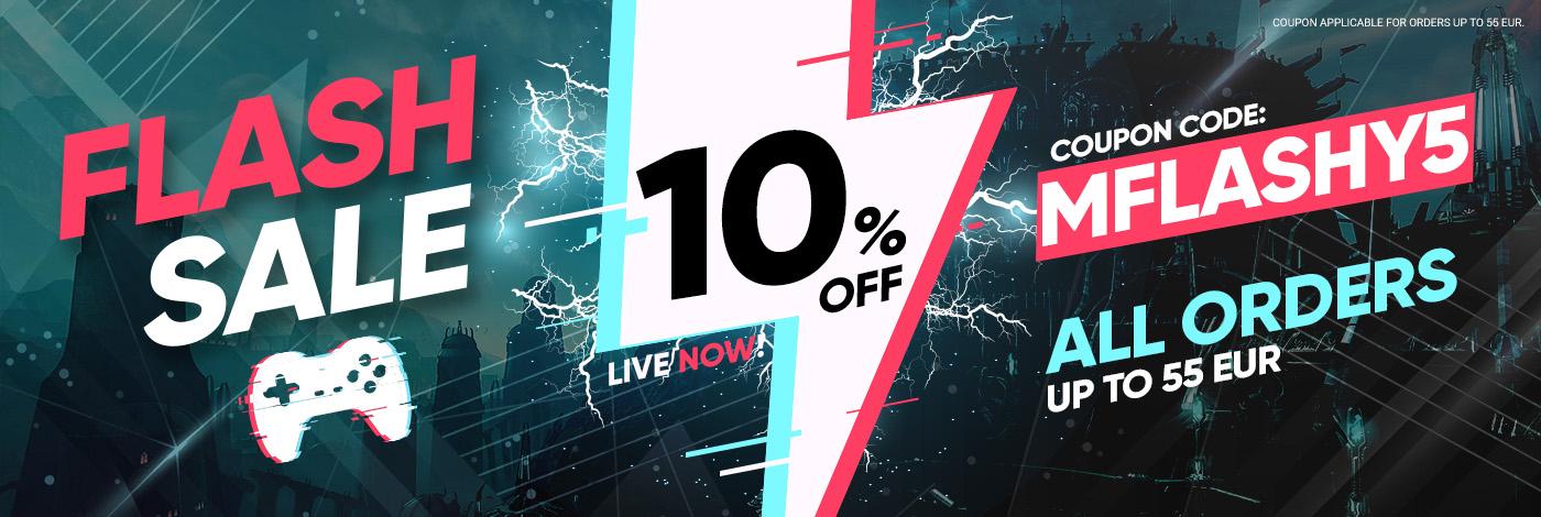 10% korting op alles tot €55 (o.a. 50 euro Xbox giftcard voor €37,59) @ Gamivo