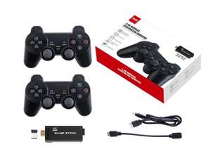 2 Wireless Controller + PS3000 64GB 4K Retro Game Stick