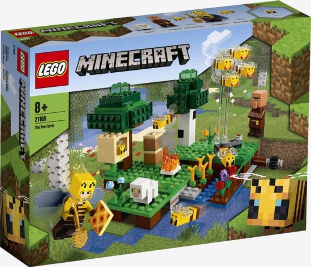 Lego Minecraft de Bijenhouderij 21165 - laagste ooit