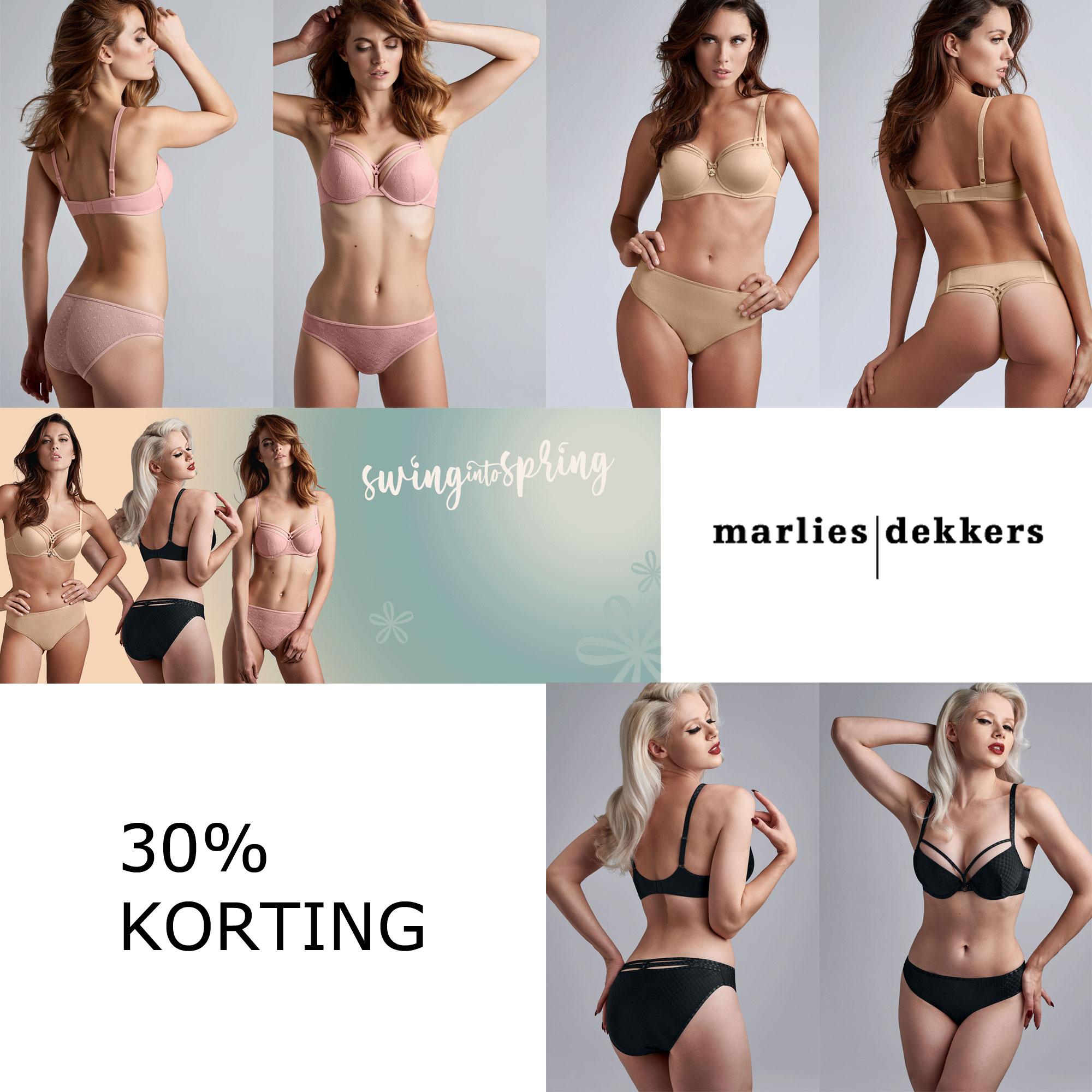 Nieuwe collectie: 30% korting op diverse stijlen @ Marlies Dekkers