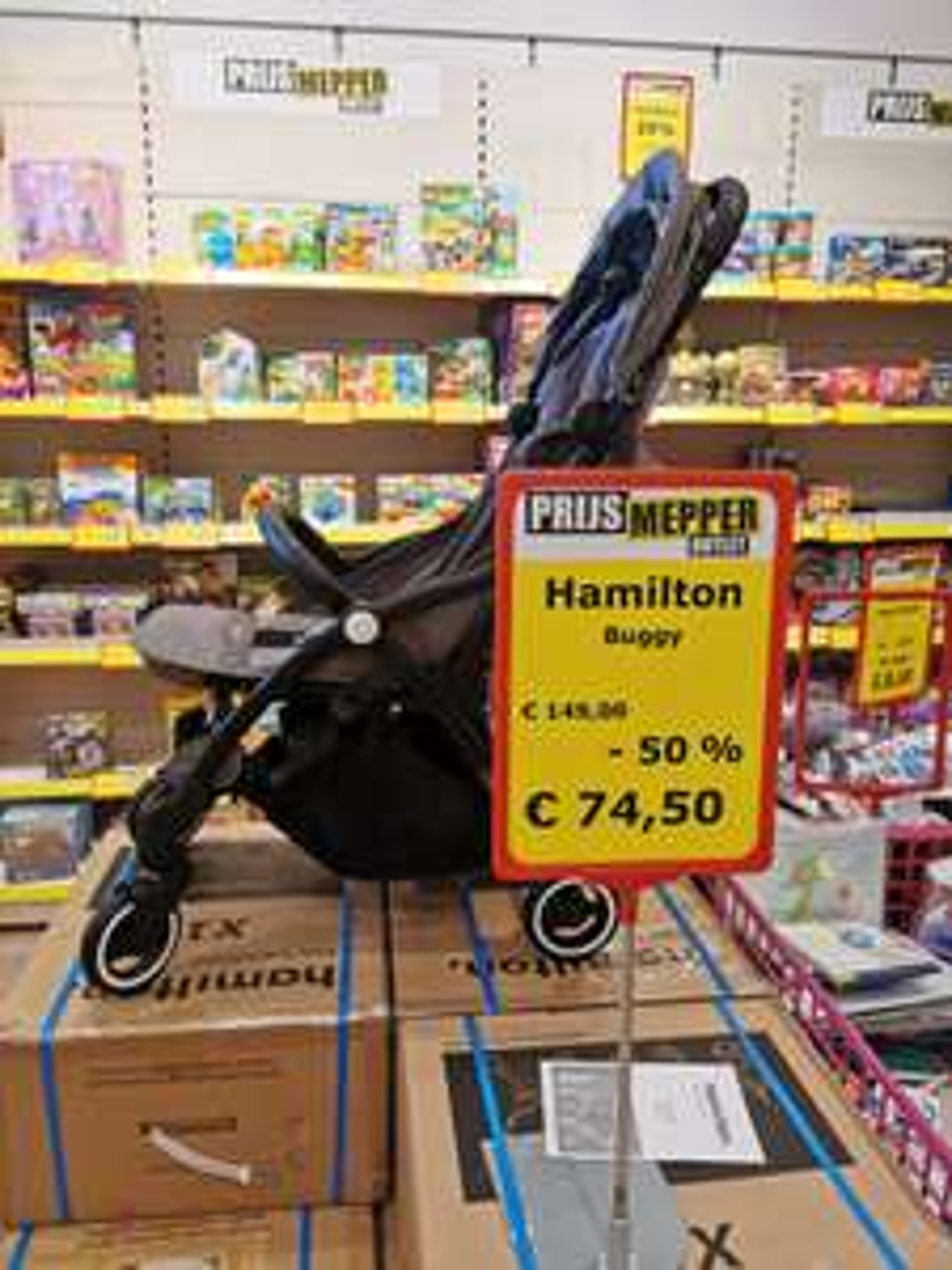 [lokaal] Hamilton buggy - 50% korting bij Prijs Mepper Zoetermeer