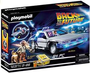 Playmobil Back to the Future 70317 DeLorean met lichteffecten @ Amazon.nl