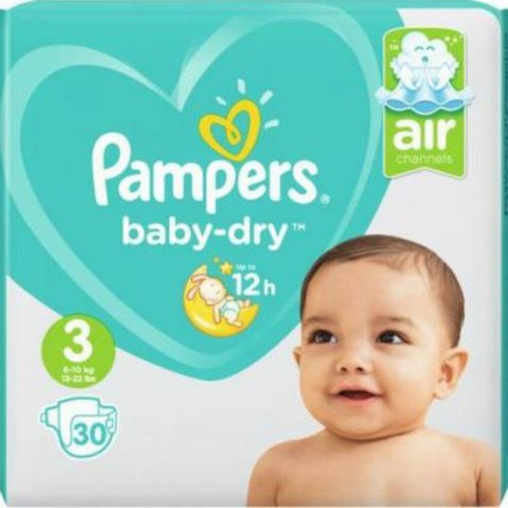 Big Bazar Big Sale: Pampers Baby Dry maat 3 60 stuks voor 2,85 / Premium Care maat 2 44 stuks voor 2,05