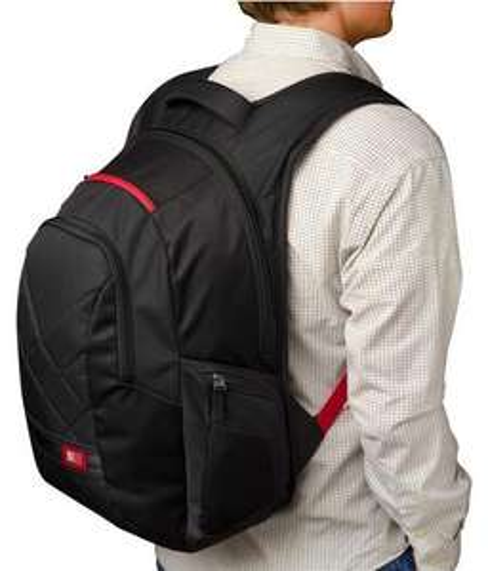 Case Logic DLBP116K 16 inch Notebook Backpack 25 liter bij Amazon
