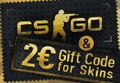 Counter Strike: GO + €2 aan Skins voor €5,49 @ Kinguin