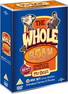 The Whole Bean (Mr. Bean 12-DVD  boxset)  voor €19,36 @ Zavvi