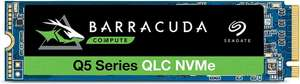 Seagate BarraCuda Q5 SSD, 500GB, M.2 NVMe