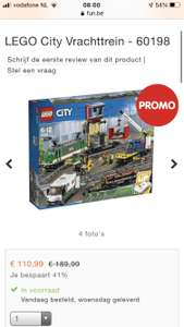 Lego City goederentrein 60198