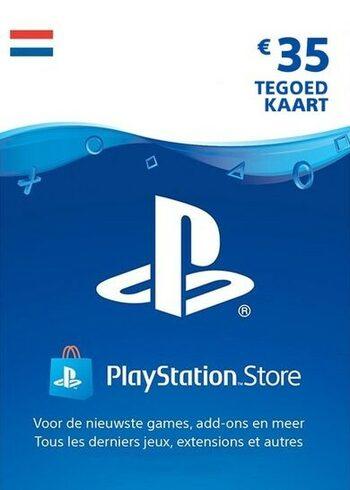 PlayStation Network €35 tegoed kaart NL (digitale code) voor €28 @ Eneba