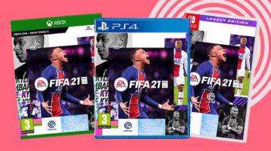 FIFA 21 PS4/XB1 voor €17 @ Bol.com