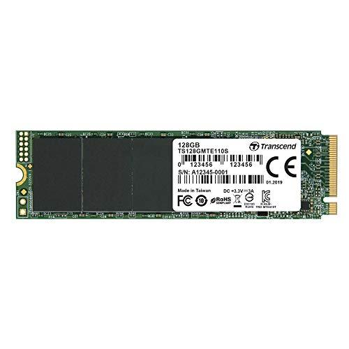 Transcend 110S SSD, 128GB, M.2, PCIe NVMe
