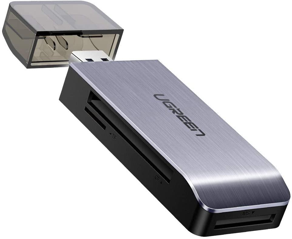 UGREEN USB 3.0 kaartlezer (SD/TF/MS/CF) voor €8,99 @ Amazon.nl