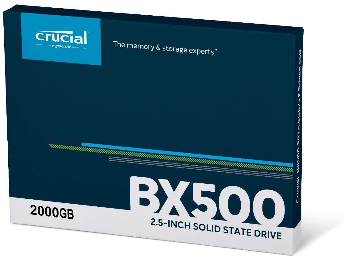 Crucial BX500 2TB SSD @Amazon DE
