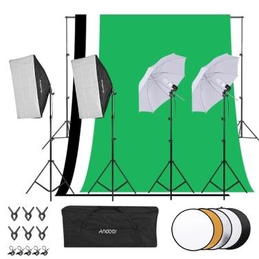 Andoer Fotostudio verlichtingsset voor €101,99 @ Tomtop
