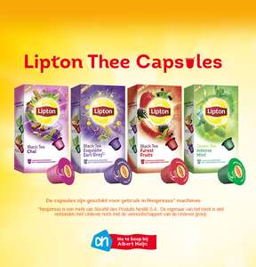 Gratis sample Lipton Thee Capsules