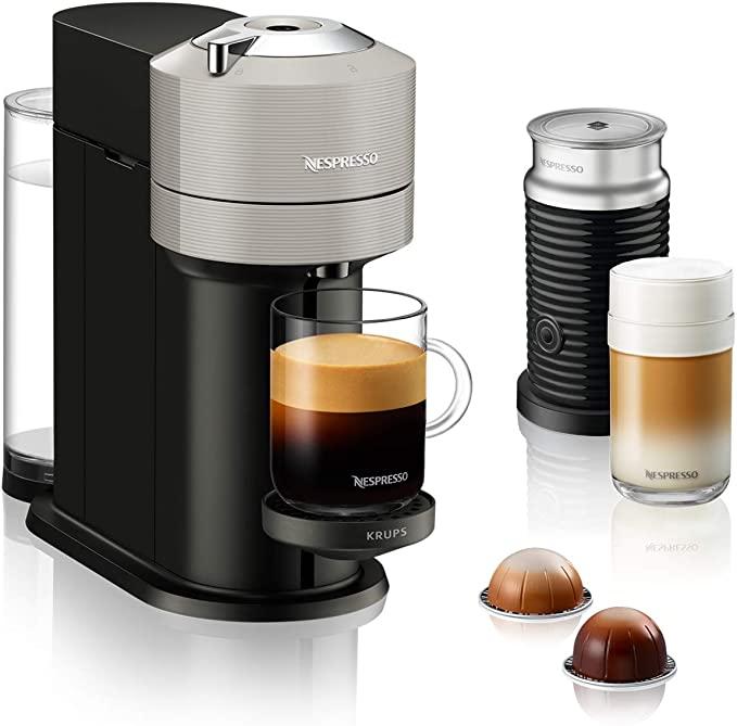 Nespresso Vertuo Next + Melkopschuimer @Amazon.nl