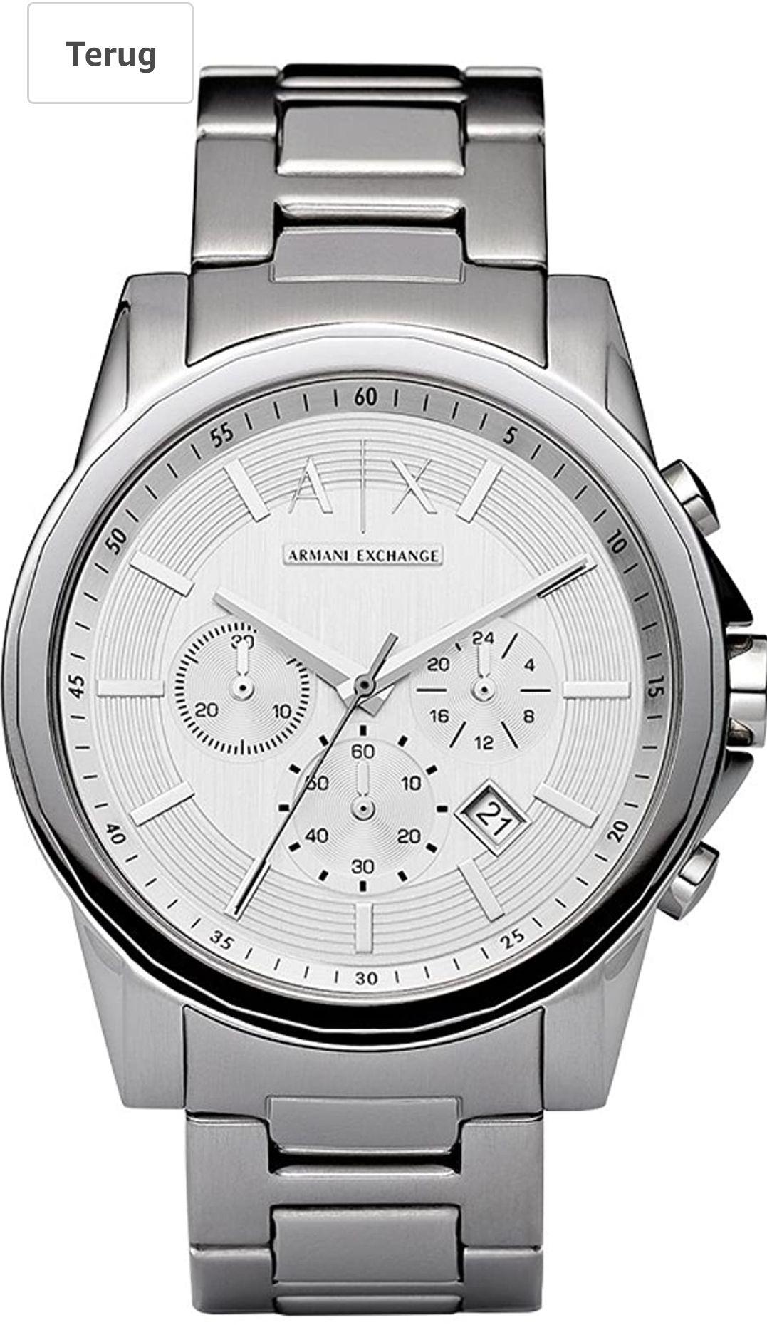 Armani Exchange Horloge Chronograaf