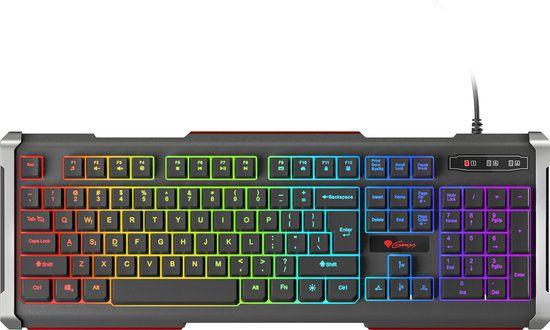 GENESIS RHOD 400 RGB toetsenbord USB QWERTY US International Zwart