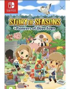 Nintendo Switch: Story of Seasons - Pioneers of Olive Town