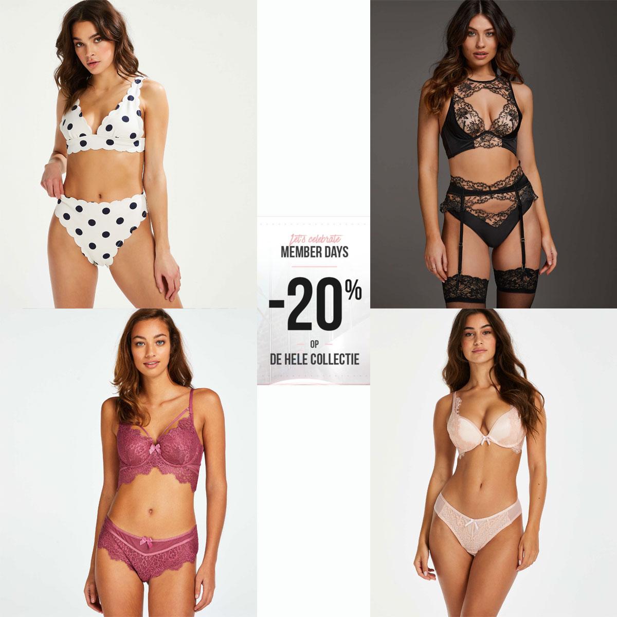 Member Days: 20% korting - ook bovenop sale