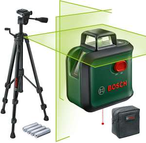 Bosch Home and Garden Cross line laser AdvancedLevel 360 with Tripod