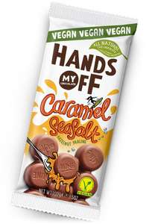 Gratis vegan Caramel Seasalt chocoladereep proeven (100% cashback)