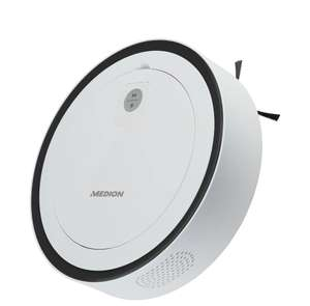 MEDION® Robotstofzuiger MD 18871   Lasernavigatie   App & Alexa controle   No Go & Go gebieden