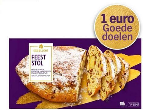 Feeststol nu extra goedkoop incl. 1,- euro naar goed doel (o.a Rode Kruis) @ Albert Heijn
