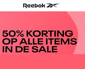SALE -50% [1.500+ items] + 10% EXTRA @ REEBOK