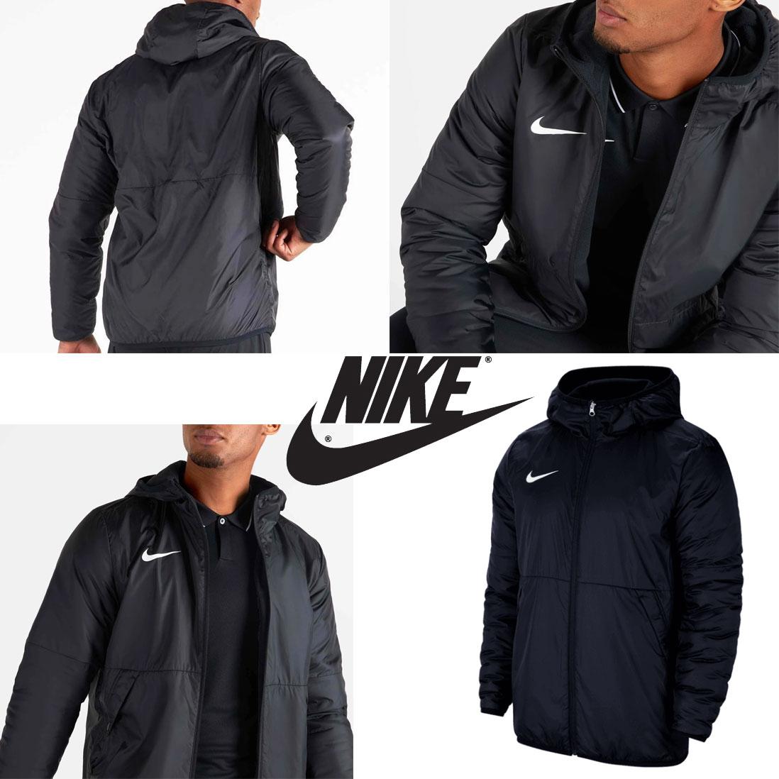Nike Park jas 20 Repel - zwart // blauw -