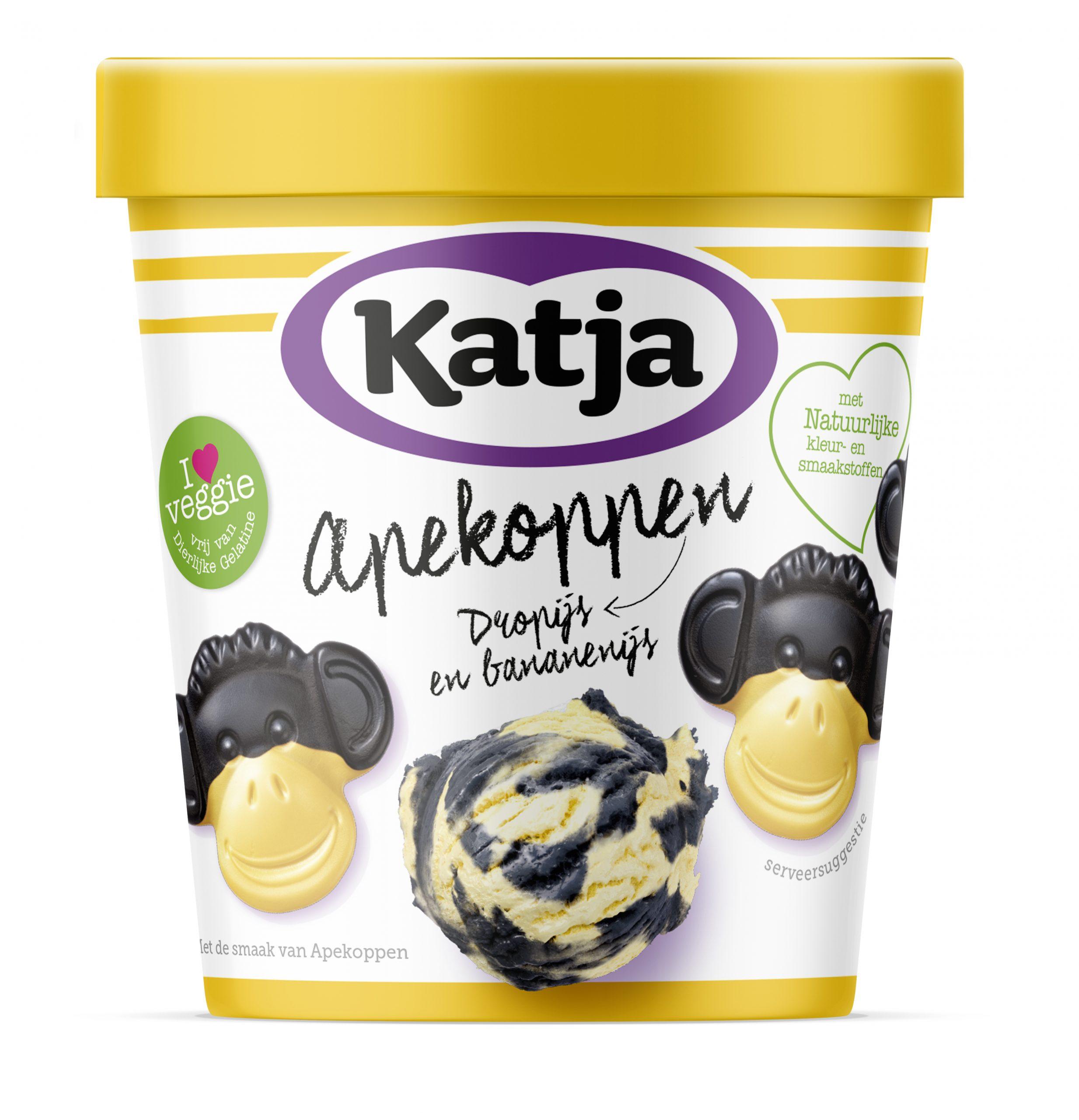 Bij Vomar Vanaf 28-03 1+1 gratis op Katje yoghurtgums of Apekoppen