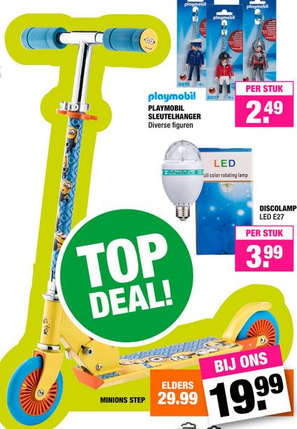 Minions step voor €19,99 @ BigBazar