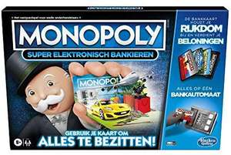 Monopoly - Super Electronisch Bankieren! (laagste prijs elders €34.39!)