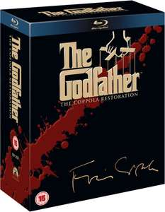 Godfather Trilogy (Blu‑ray) voor €15,80 @ Zavvi.nl