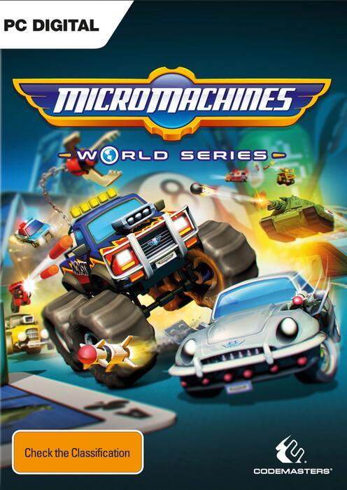 Micro Machines World Series (Steam key) @ CDkeys
