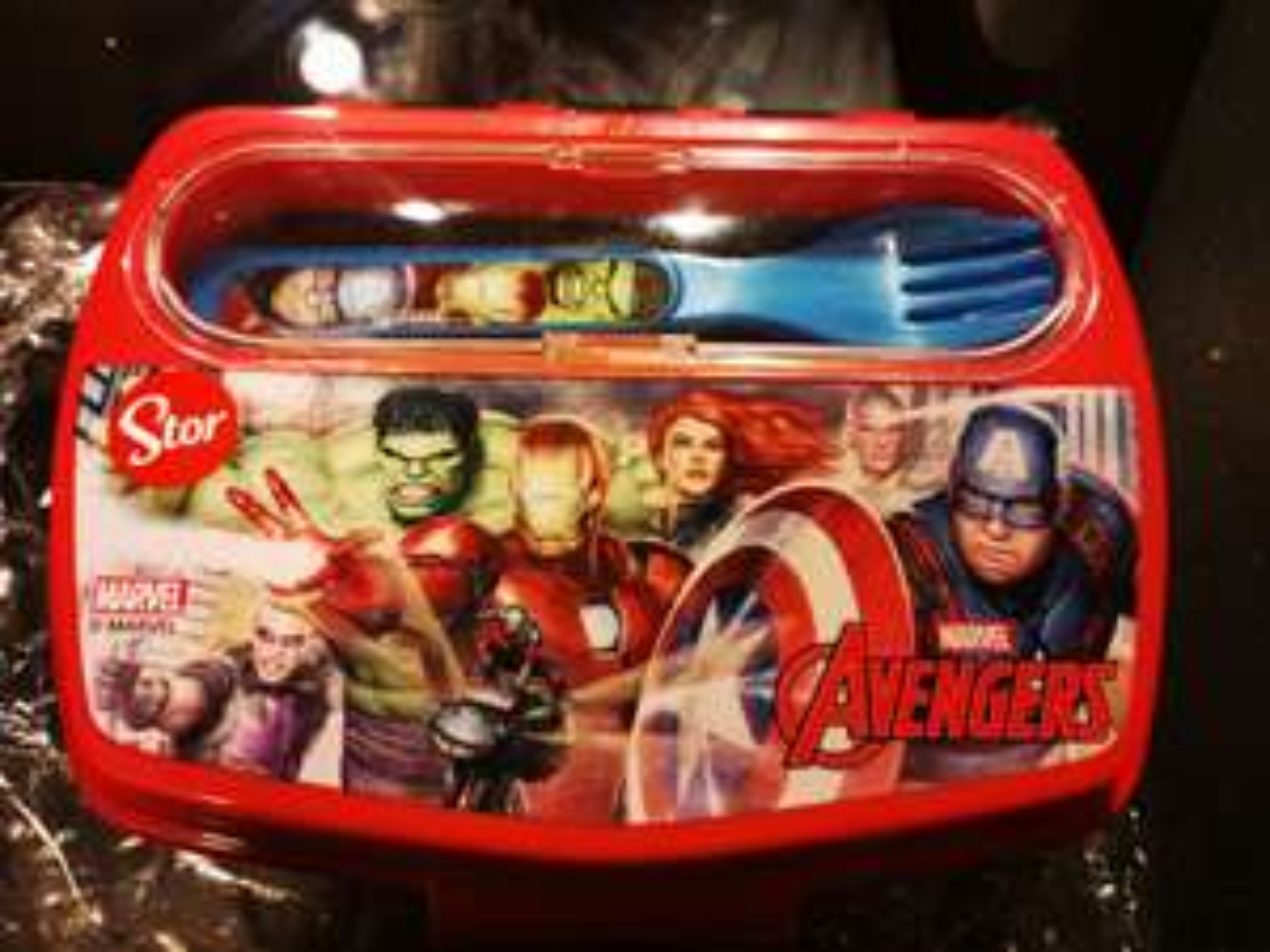 [Muiden] Avengers lunchbox
