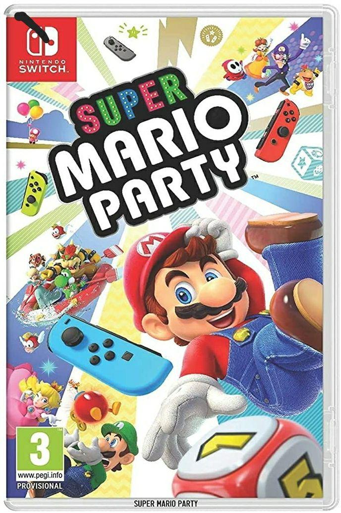 Mario party voor nintendo switch. (Engelse versie) (is het boek! Niet het spel!)